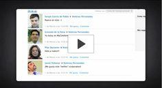 Vídeo de lanzamiento de la red social corporativa de Cetelem