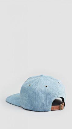 Light Blue Denim Baseball Cap  ||  ILOVEUGLY