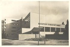 Bohuslav Fuchs - Masarykův studentský domov, Brno (Masaryk student dormitory, Brno) (Photo: Atelier de Sandalo)