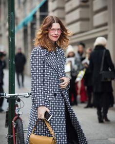 Неделя моды в Нью-Йорке Зима 2018 Best Street Style