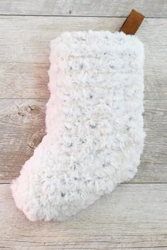 Faux Fur Stocking Easy Knitting Pattern – Mama In A Stitch