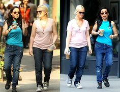 Amy Poehler + Janeane Garofalo. what i wouldn't give to have been a ladybug on one of their shoulders.