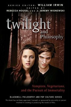 Twilight and Philosophy: Vampires, Vegetarians, and the Pursuit of Immortality (The Blackwell Philosophy and Pop Culture Series) by Rebecca Housel. $12.24. Publisher: Wiley; 1 edition (September 8, 2009). 273 pages. Author: Rebecca Housel