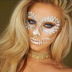 Sugar Skull MakeUp by Instagramer jadedeacon