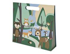 Sebra arkivmappe, skovens dyr, dreng