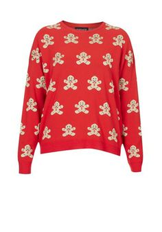 25ba7b89b4 Gingerbread Men Christmas Sweater Christmas Jumper Day