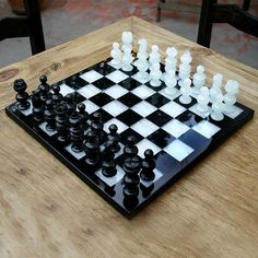 Onyx and Marble Chess Set - Classic   NOVICA
