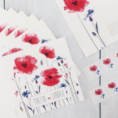 Trouwkaart • Weddingcard • Aquarel • Weddinginvitation • studiosproet.com