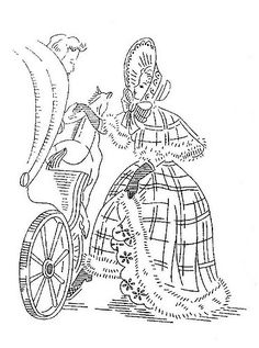 Authentic southern belle dresses drawings google search for Southern belle coloring pages