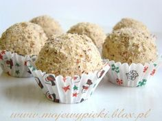 Słodkie orzechowe kulki Trufle, Muffin, Breakfast, Muffins, Morning Breakfast