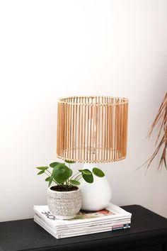 Bohemian Lamp, Boho Diy, Diy Floor Lamp, Rattan Lamp, Old Lamps, Boho Room, Diy Flooring, Decoration, Upcycle