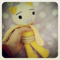 gatito amigurumi amarillo  kitty amigurumi yellow