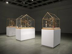 Installation view of John W. Ford: House Not a Home