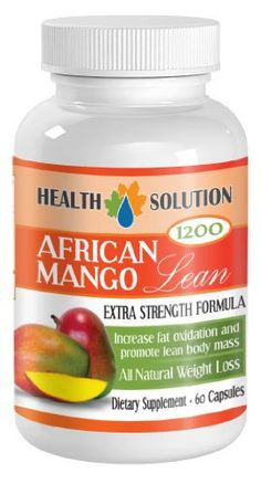 Fat burner for men weight loss – AFRICAN MANGO EXTRACT (1200Mg) – African mango plus diet pills – 1 Bottle 60 Capsules WEIGHT LOSS: There was a clinical study done back in 2005 that tested the effectiveness of African Mango Extract on weight loss. There were a total of 40... more details at http://supplements.occupationalhealthandsafetyprofessionals.com/weight-loss/supplements/orlistat/product-review-for-fat-burner-for-men-weight-loss-african-mango-extract-1