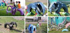 Tyre Fun! What a great idea