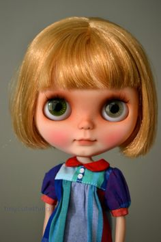 Esmey custom no. 117 OOAK custom neo blythe doll by tinycutethings