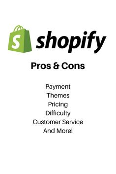 Learn the pros and cons of selling on Shopify if you're looking for an e-commerce platform.