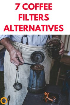 Ran out of coffee filters? Desperately need your coffee? Not to worry, there is more than one tried and true coffee filter alternative to rescue you. #LittleCoffeePlace #Coffee #CoffeeTips