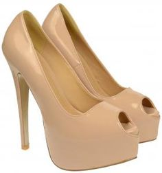 Aria Nude High Heels ONLY £14.99