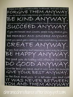 Inspirational Subway Art...With Printable