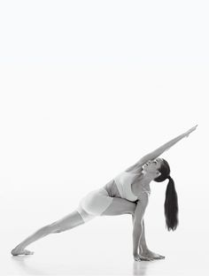 Revolved Extended Side Angle Pose #yoga #pose