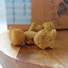 Alfie & Molly's Mackerel Munchies. Hypoallergenic, Wheat, Gluten and Grain Free Dog Treats. Made in the UK.
