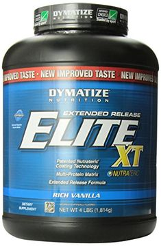 Dymatize Elite XT Dietary Supplement Rich Vanilla 4 Pound Pack of 6 * Continue to the product at the image link. (This is an affiliate link) Post Workout Supplements, Post Workout Nutrition, Vanilla, Health Products, Image Link, Awesome, Check, Health Foods