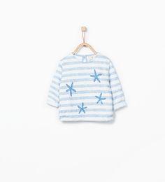 Sudadera rayas-Sudaderas-Bebé niña (3 meses-3 años)-NIÑOS | ZARA España