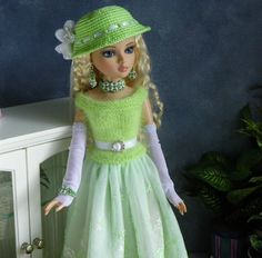 By lisella64...Doll Outfit 4 Tonner Ellowyne,Prudence,Lizette,Amber-Jewelry-A1