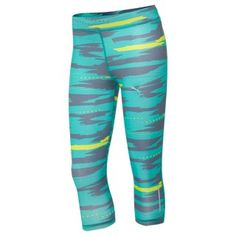 Best Running Tights for Women: Puma Graphic 3/4 Running Tights - Best Workout Clothes for Women 2013 - Shape Magazine