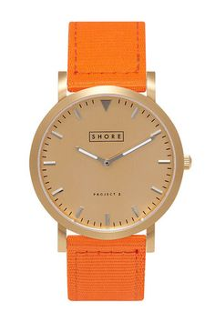 Vintage influenced designs make Shore Projects watches the most desirable!