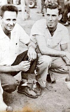 Ralph Earnhardt and Ned Jarrett
