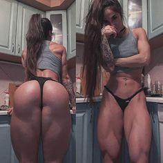 Wife fitness ass