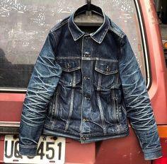 Mens Fashion Rugged – The World of Mens Fashion Love Jeans, Jeans Style, Denim Fashion, Fashion Outfits, Fashion Men, Denim Vintage, Edwin Jeans, Raw Denim, Men's Denim