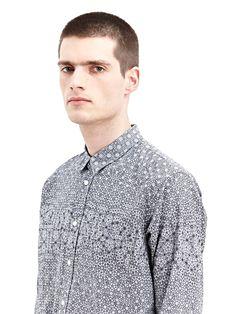 NEW SEASON - Sidian, Ersatz & Vanes Mens Woven Buttoned Shirt
