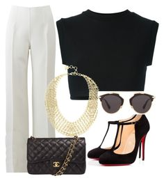 Designer Clothes, Shoes & Bags for Women Christian Dior, Christian Louboutin, Adidas Originals, Chanel, Michael Kors, Shoe Bag, Polyvore, Stuff To Buy, Shopping