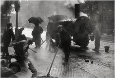 Les goudronneurs, Paris, 1931