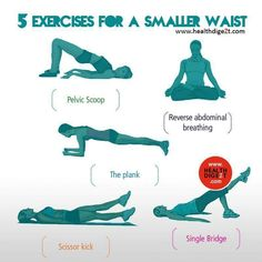 Exercise for a smaller waist