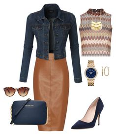 """""""Urban Chic"""" by tinaknepper on Polyvore featuring Glamorous, Bailey 44, LE3NO, Kate Spade, Michael Kors, MICHAEL Michael Kors, Fremada, Forever 21, women's clothing and women"""