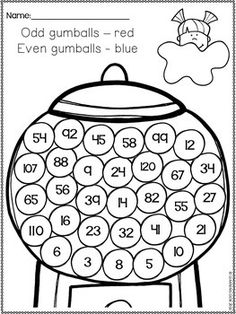 Print out these free pdf worksheets to help your kids learn to understand and recognize even and odd numbers. All worksheets are pdf files for easy printing. Kindergarten Math Worksheets, Number Worksheets, Homeschool Kindergarten, Math Activities, Maths, Homeschooling, Kindergarten Lessons, 2nd Grade Classroom, Math Classroom