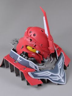 1/48 Sinanju Head Display Base Custom Build | Gundam Kits Collection News and Reviews