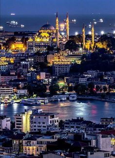Istanbul, Hagia Sophia, Mosque, San Francisco Skyline, New York Skyline, Cathedral, Times Square, Places To Go, Greek