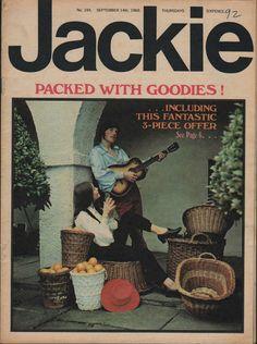 Jackie Magazine 14 September 1968 Issue No.245 Scott Walker The Timebox Traffic