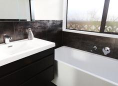 Shower Systems, Corner Bathtub, Basin, Chrome, Contemporary, Bathroom, Washroom, Full Bath, Bath