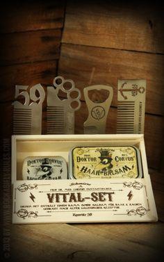 Rumble59 - Schmiere - Vital Set /// Balsam für Haar und Rachen- Gebraut nach alter galenischer Rezeptur /// Rockabilly-Rules.com