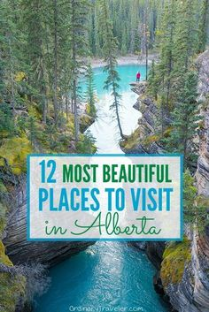 Incredbly The 12 Most Beautiful Places to Visit in Alberta, Canada - Travel Destinations 2019 Beautiful Places To Visit, Cool Places To Visit, Places To Travel, Travel Destinations, Montreal, Vancouver, Alberta Canada, Toronto, Voyage Canada