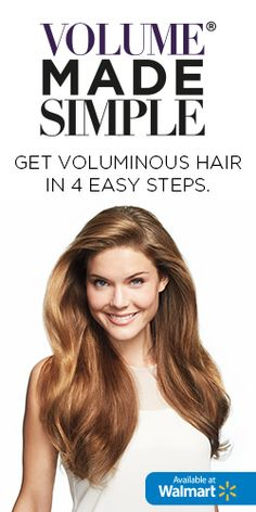 Voluminous Hair Made Simple #spon