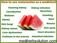 Sexual benefits of watermelon