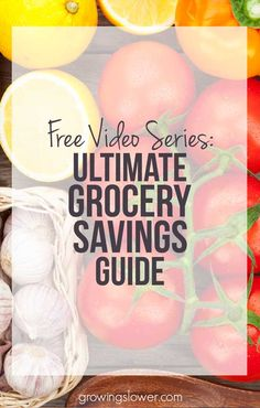Save money on groceries without clipping coupons! Learn to save money with this…