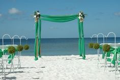 Green decor from floridaweddings.com #wedding #beachdecor #destinationwedding #weddings #love #weddingplanner #weddinginspiration #weddingphotography #weddingceremony #weddingplanning #beach #dreamwedding #weddingphotographer #outdoorwedding #weddingdestination #weddingseason #weddingideas #islandwedding #weddinginspo #ido #floridaweddings #green
